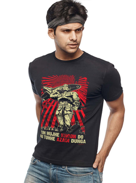 Netaji Subhas Chandra Bose T-Shirt - Wear Your Opinion - WYO.in  - 2
