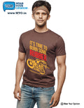 Burn Some Rubber T-Shirt - Wear Your Opinion - WYO.in  - 9