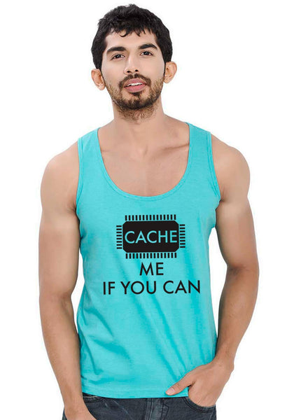 Cache Me Sleeveless T-Shirt
