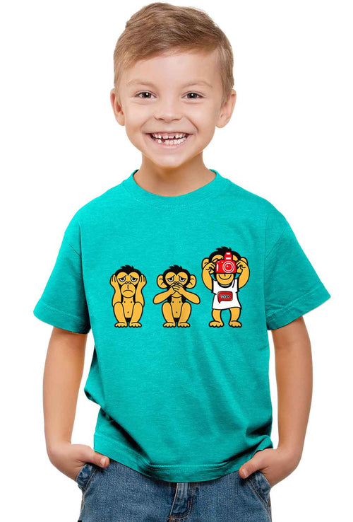 Camera Kid'S T-Shirt - Wear Your Opinion - WYO.in  - 1