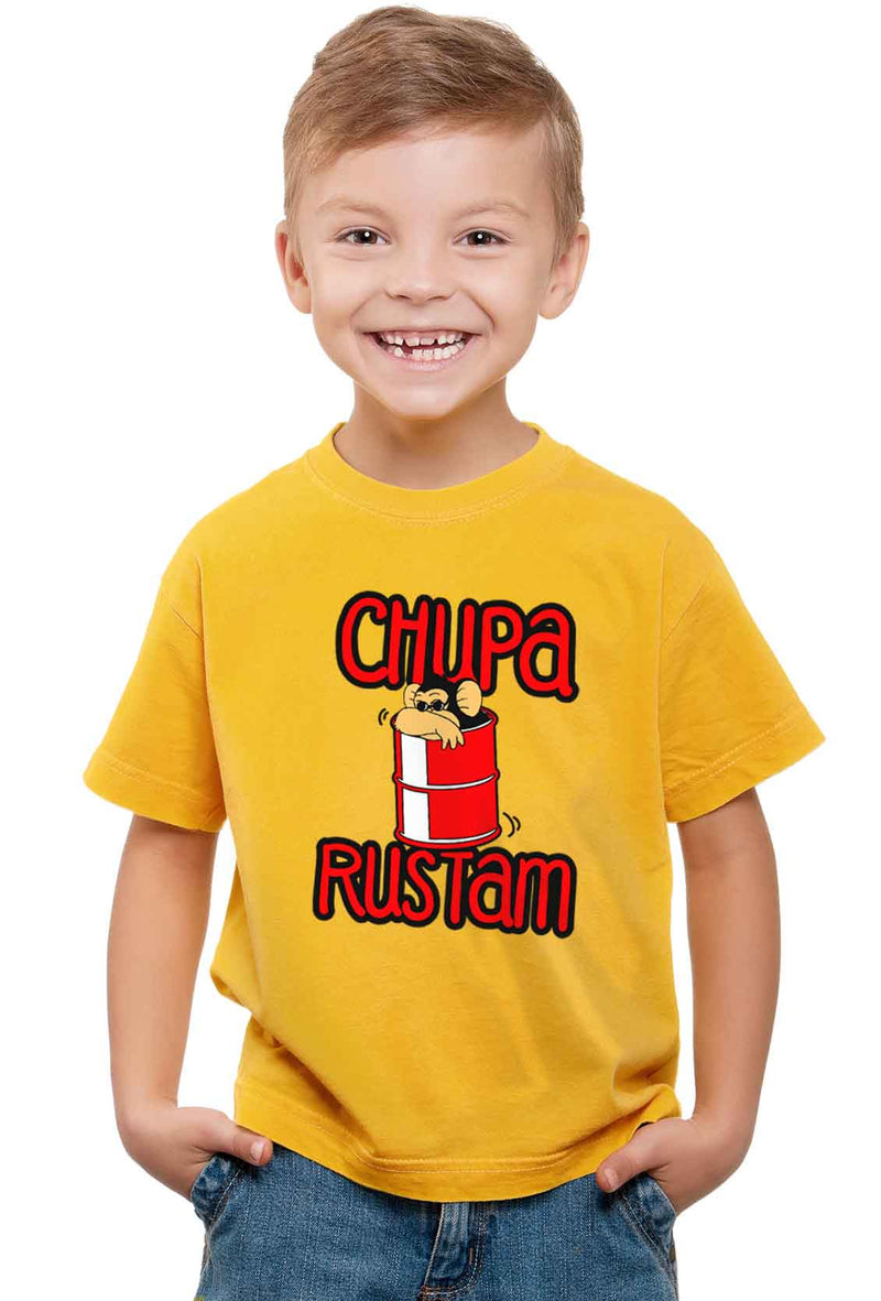 Chupa Rustam Kid'S T-Shirt - Wear Your Opinion - WYO.in  - 1