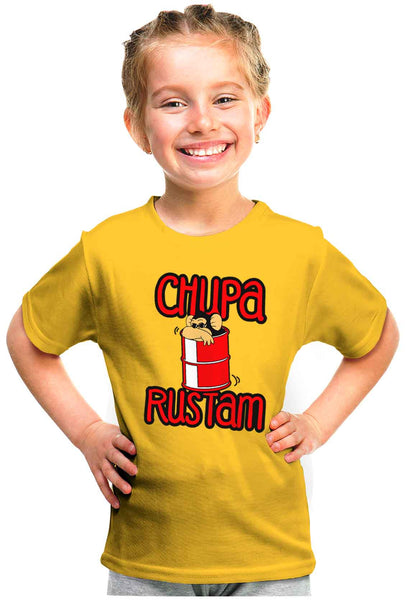 Chupa Rustam Kid'S Tshirt - Wear Your Opinion - WYO.in  - 1