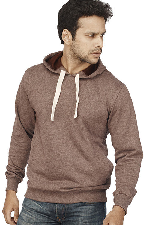 Coffee Melange Plain Sweatshirt - Wear Your Opinion - WYO.in  - 1
