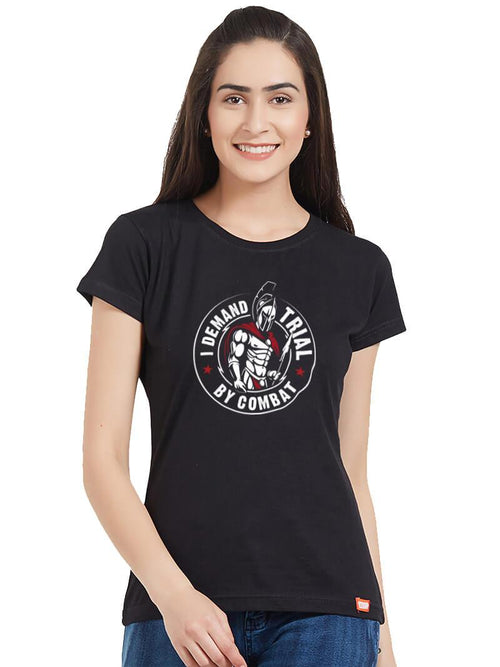 Trial By Combat Women T-Shirt