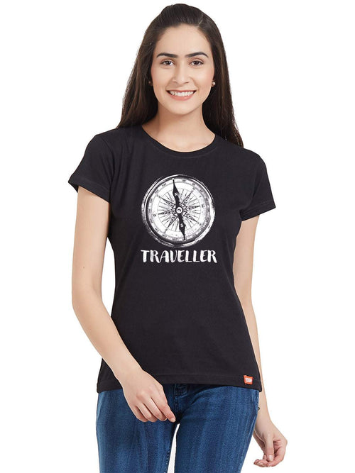 Travel Compass Women T-Shirt