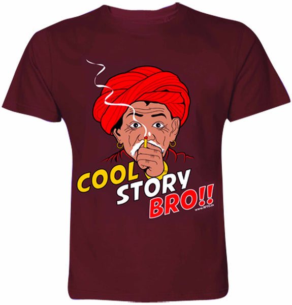 Cool Story Bro T-Shirt - Wear Your Opinion - WYO.in  - 2