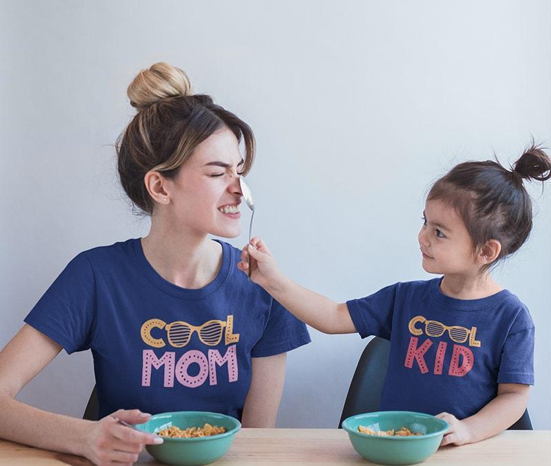 Cool - Mother And Daughter T-Shirts
