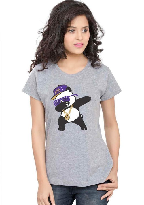 Dab Panda Women T-Shirt