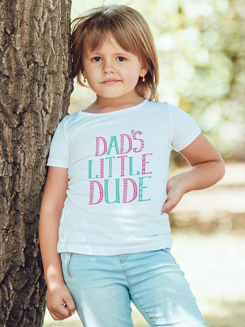 Dad's Little Dude Kids T-Shirt