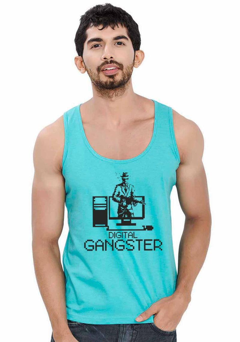 Digital Gangster Sleeveless T-Shirt
