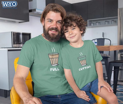 Full Cutting - Father and Son T-Shirt