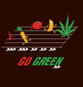 Go Green Womens TShirt - Wear Your Opinion - WYO.in  - 2