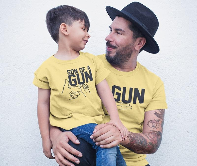 Son Of A Gun Kids T-Shirt