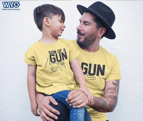 Gun - Father And Son T-Shirt