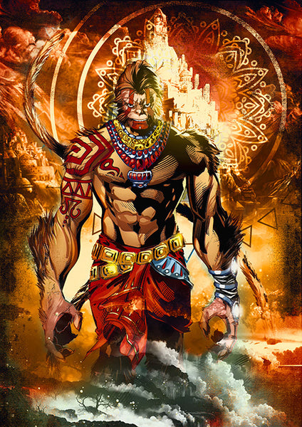Hanuman Poster - Wear Your Opinion - WYO.in