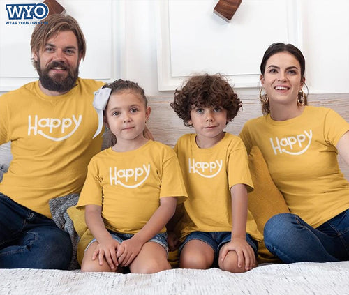 Happy - Family Tees