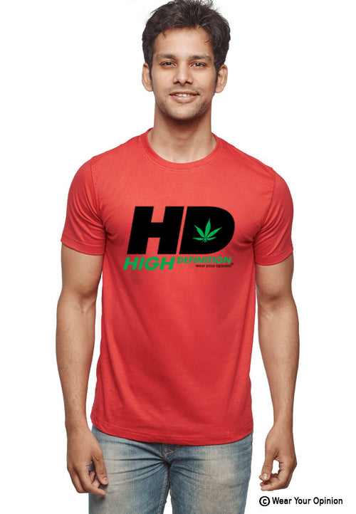 High Definition T-Shirt - Wear Your Opinion - WYO.in  - 2