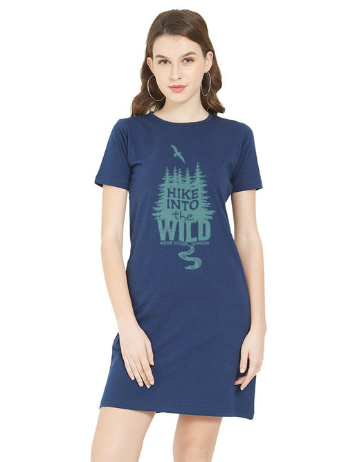 Into the Wild Women T-Shirt Dress