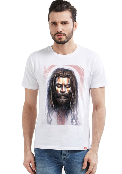 Holy Cow Aghori Face T-Shirt