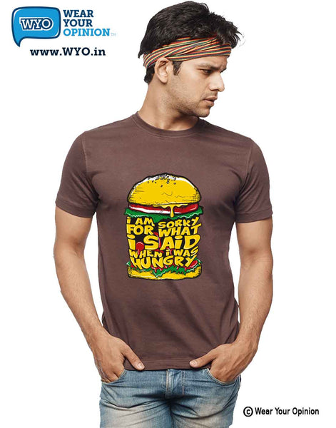Hungry T-Shirt - Wear Your Opinion - WYO.in  - 4