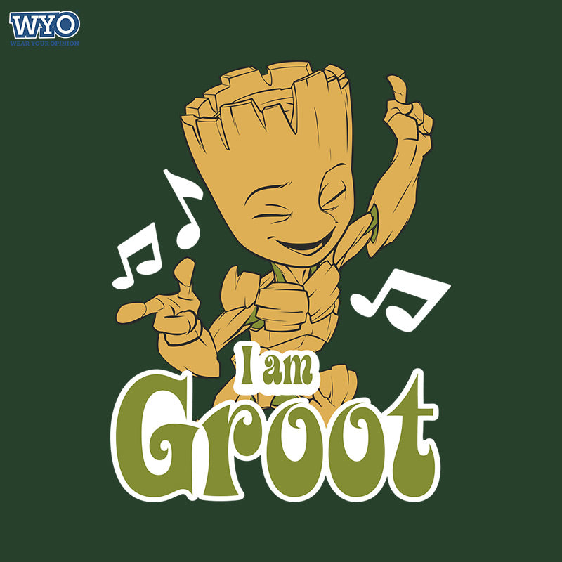 Music Dancing Groot T-Shirt