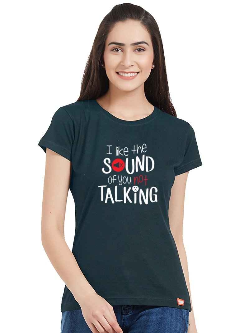 Not Talking Women T-Shirt