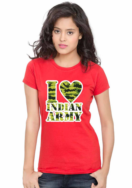 Army Love Women TShirt