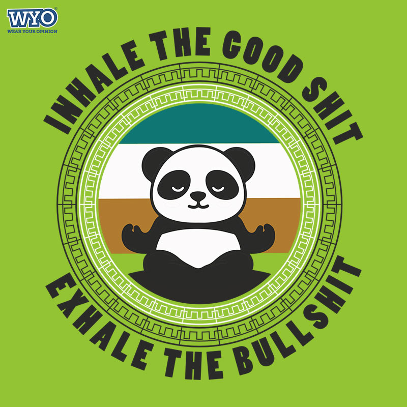 Inhale Good Panda T-Shirt