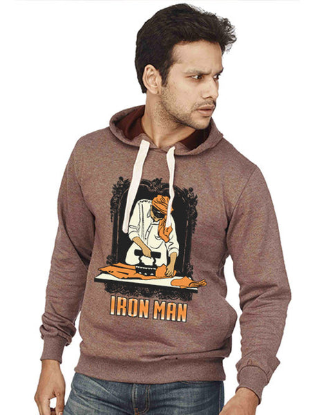 Iron Man Sweatshirt - Wear Your Opinion - WYO.in  - 1