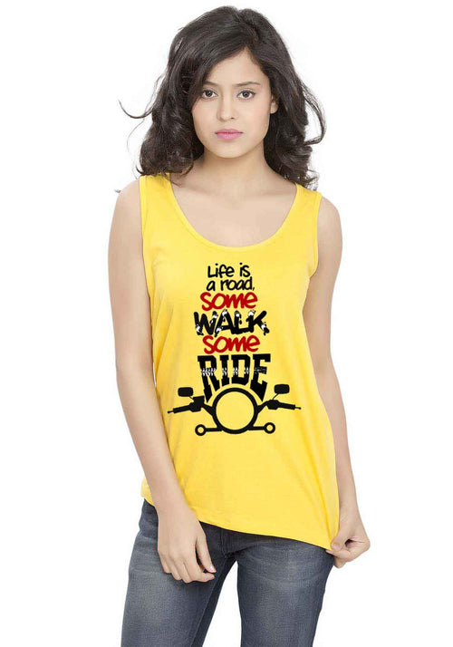 Life Is A Road Sleeveless T-shirt