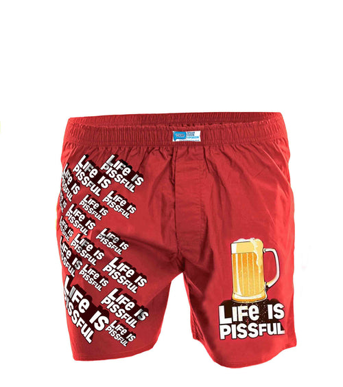 Life Is Pissful Boxer Short - Wear Your Opinion - WYO.in  - 1