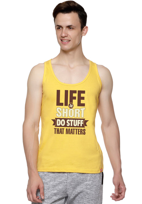 Life Is Short Sleeveless T-Shirt