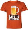 Life Is Pissful T-Shirt - Wear Your Opinion - WYO.in  - 5