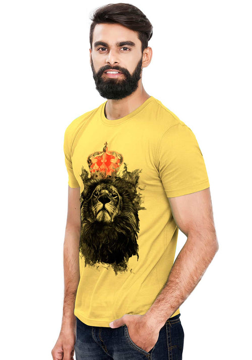 King Lion T-Shirt - Wear Your Opinion - WYO.in  - 2