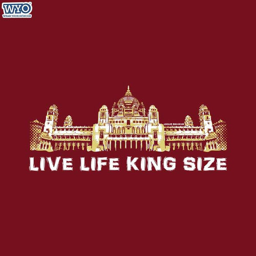 Life King Size Women T-Shirt