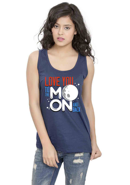 Love Moon Sleeveless T-shirt