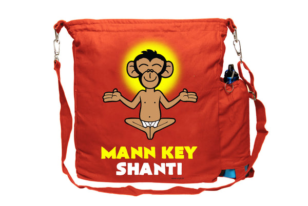 Mann Key Shanti Sling Bag - Wear Your Opinion - WYO.in  - 1