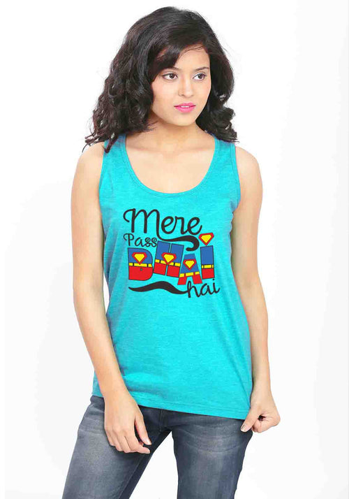 Mera Bhai Sleeveless T-Shirt