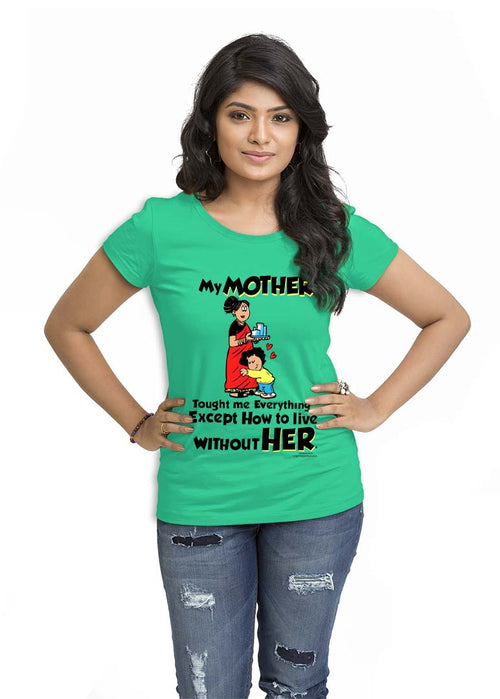 Mother Love Women TShirt - Wear Your Opinion - WYO.in  - 3
