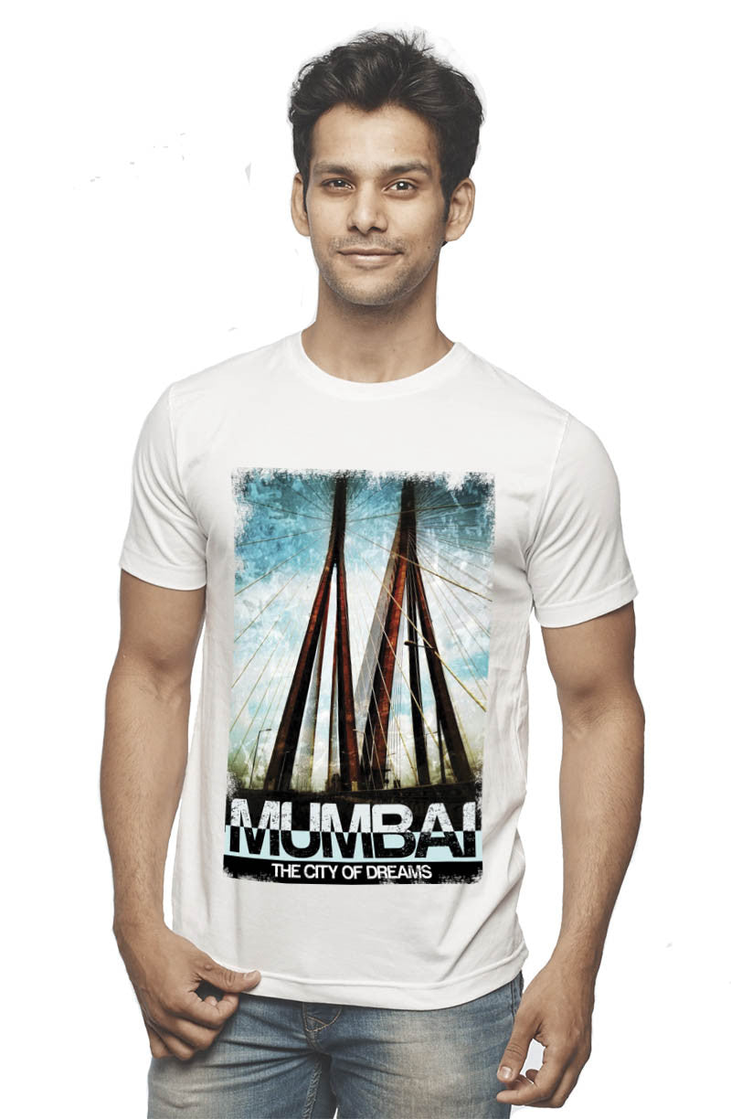 Mumbai Sea Link T-Shirt - Wear Your Opinion - WYO.in  - 2