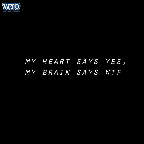 Brain Says WTF Women Tshirt