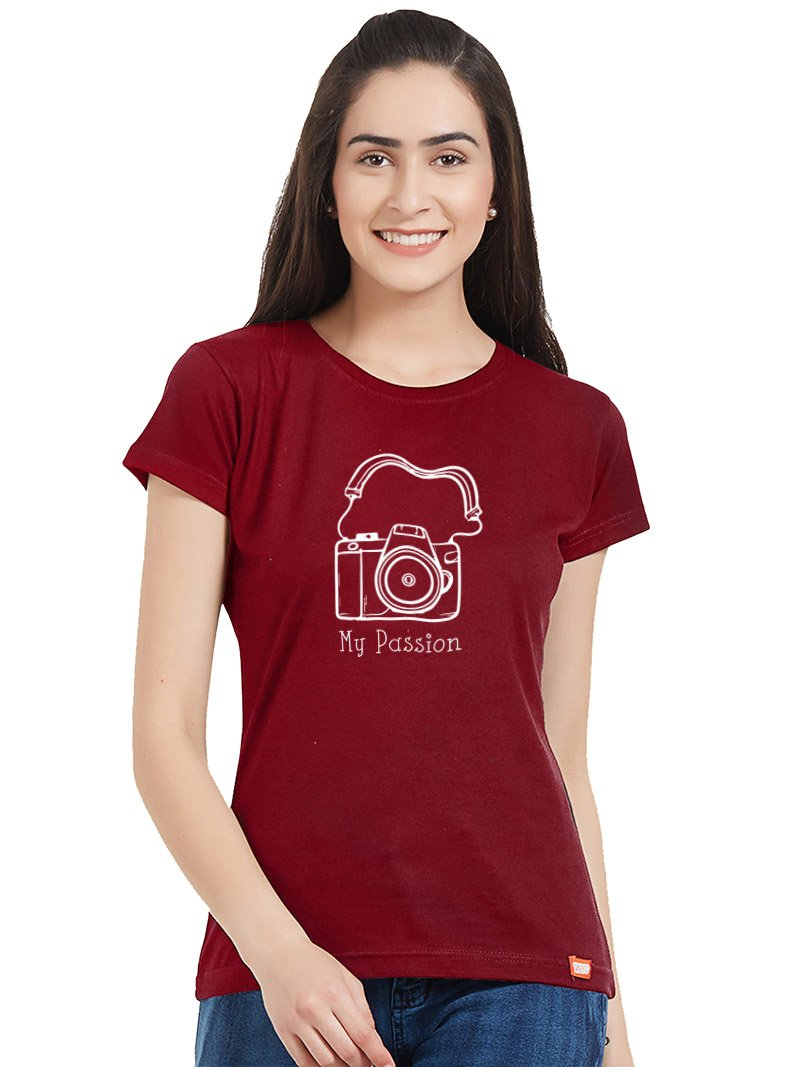 Photography My Passion Women T-Shirt