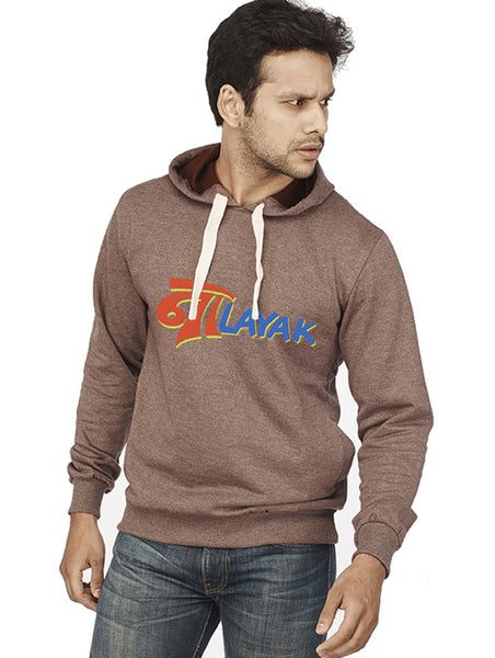 Nalayak Front Print Sweatshirt - Wear Your Opinion - WYO.in  - 1