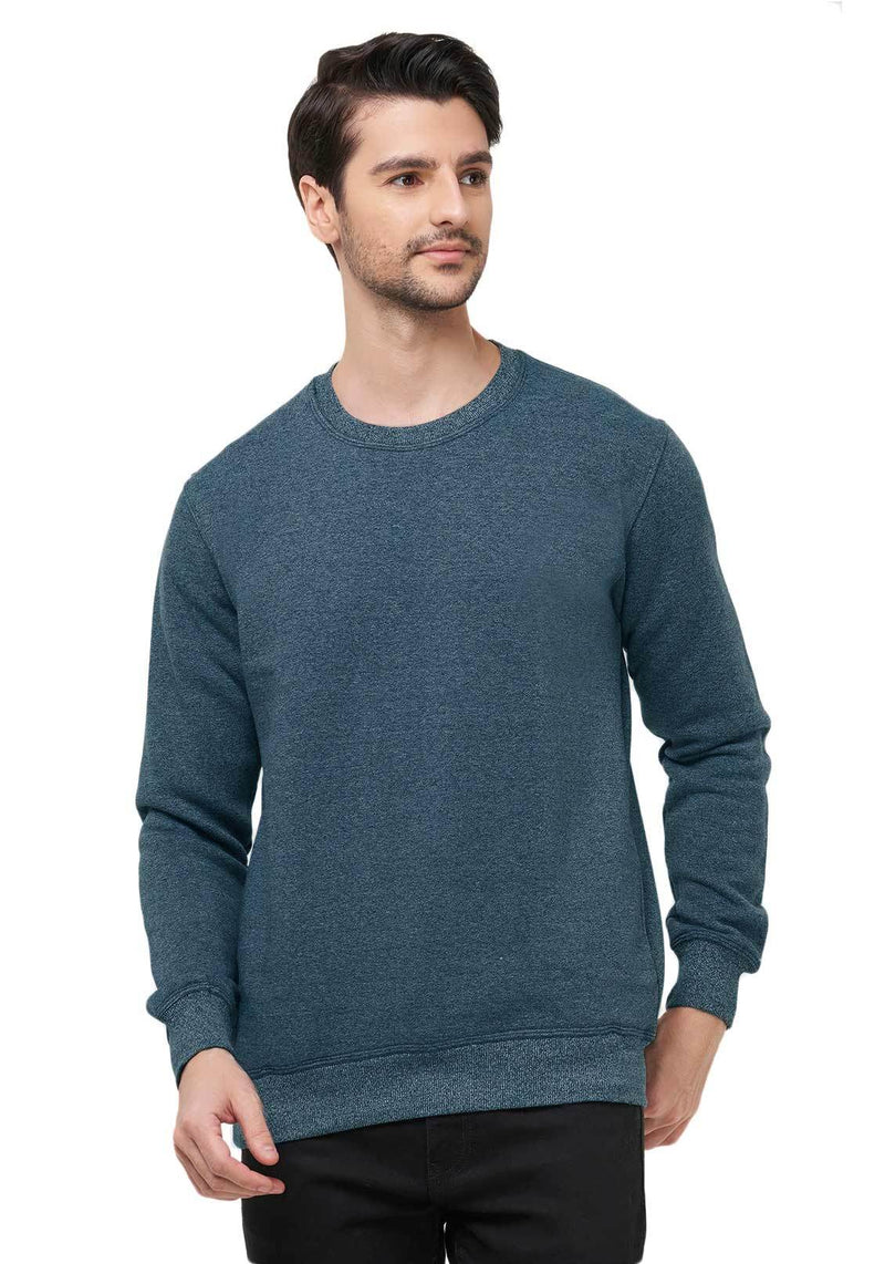 Premium Plain Sweatshirt - Navy Grindle