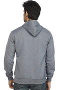 Navy Melange Plain Sweatshirt - Wear Your Opinion - WYO.in  - 3