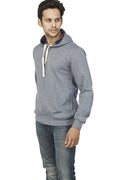 Navy Melange Plain Sweatshirt - Wear Your Opinion - WYO.in  - 4