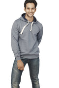 Navy Melange Plain Sweatshirt - Wear Your Opinion - WYO.in  - 5