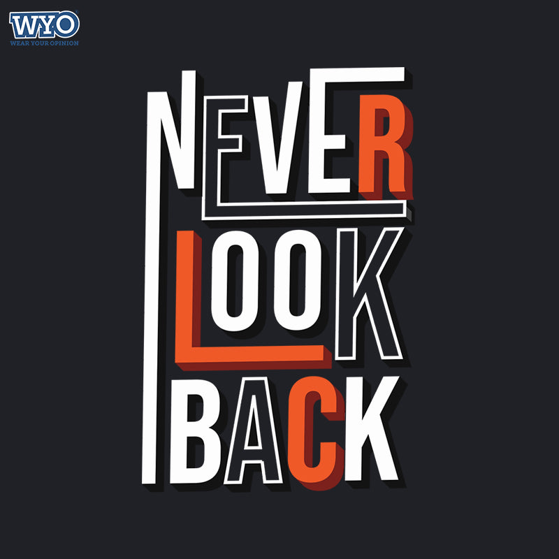 Never Look Back Women Tshirt