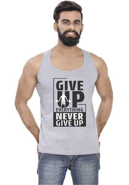 Give Everything Sleeveless T-Shirt - Wear Your Opinion - WYO.in  - 1