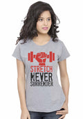 Stretch Women Tshirt - Wear Your Opinion - WYO.in  - 1